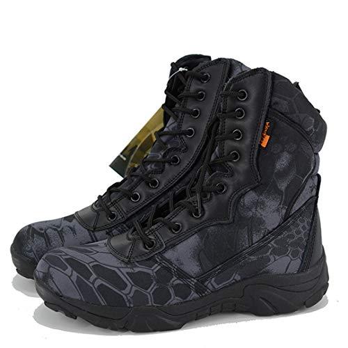 Marines Amateurs Militaires du désert Bottes Chaussures de randonnée Chaussures de Combat Tactique Hommes Armée Bottes pour l'automne Hiver Camouflage 10