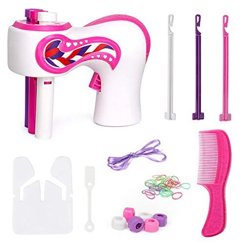 Monkys Automatic Hair Braider Elektrische Haarflechtmaschine DIY Magic Hair Styling Tools für Mädchen Geschenk