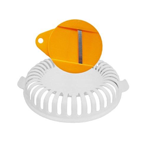 D DOLITY Plástico Microondas Fabricante de Patatas Fritas Casera Herramientas de Horneado