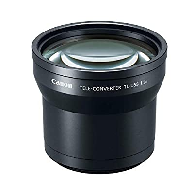 Canon TL-U58 Tele-Converter for VIXIA, GX10, XF405 and XF400 Camcorders by Canon