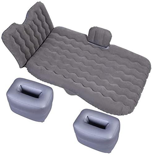 angelHJQ Cama de viaje de coche, cama Acampamento accesorios inflables Camping cama de viaje accesorio de coche para coche de sedán