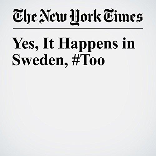 Yes, It Happens in Sweden, #Too copertina