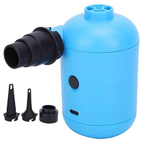 KIKYO Bomba de Aire eléctrica, Bomba Inflable eléctrica HT-426, inflador portátil para Cama de Aire, Piscina, Bote, balsa de Juguete