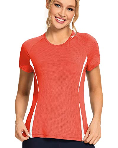 Workout Shirts for Women - Womens T Shirts - Womens Athletic Tops