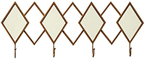 Willesego Creative Coat Rack Wandhaken Aufbewahrungsfach 4 Haken (Farbe   -, Größe   -)