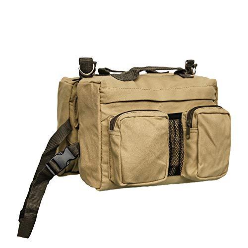 Mochila para mascotas, mochila de algodón para viajes al aire libre, ajustable, se puede conectar a la correa, viajar y caminar