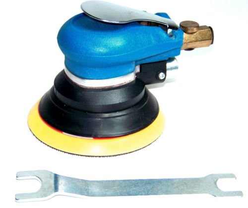"(Best tools) 5"" Air Palm Sander Random Orbital D A Paint Bondo Sander Auto Body 9000 RPM"