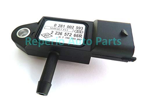 Sensor De Presión Del Colector Map Sensor De Impulso De Admisión Turbo 223657266R 0281002593 8200225971