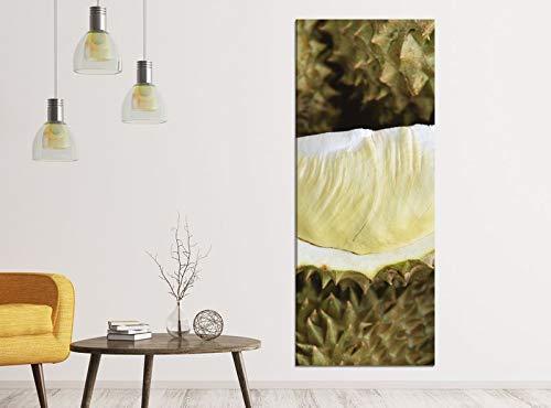 Leinwandbilder 1Tlg 40x100cm Durian Obst Pflanze Essen Küche Kern Leinwandbild Kunstdruck Wand Bilder Vlies Wandbild Leinwand Bild Druck 9ZA237, Leinwandbild Gr. 1:40cmx100cm