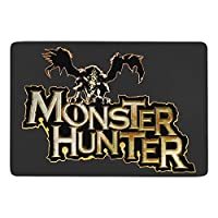 Monster Hunter カーペット マット ラグ フランネルラグ 滑り止めカーペット 防臭 柔らか 防ダニ ラグマット 洗え アールシーズン 床暖房 ふわっと手触り 60*40inch ずれない 防音 パンチカーペット 抗菌 お祝い