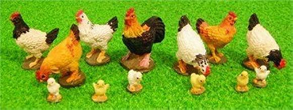 Dollshouse 12th escala Chicken Run