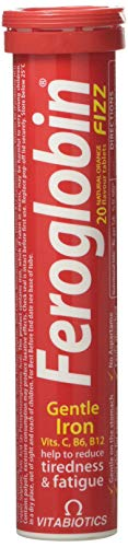 Vitabiotics Feroglobin Fizz Tablets, 20 pack