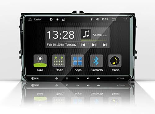 B-Ware Radical R-C10VW1 für viele VW wie Golf 5+6, Seat und Skoda   Bluetooth   USB   CanBus   Lenkrad-Fernbedienung   2-DIN Autoradio