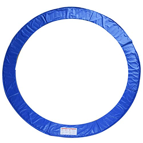 HOMCOM Cubierta de Protección de Ø305 cm Borde para Cama Elástica y Resorte Trampolín Redondo para Exterior Azul