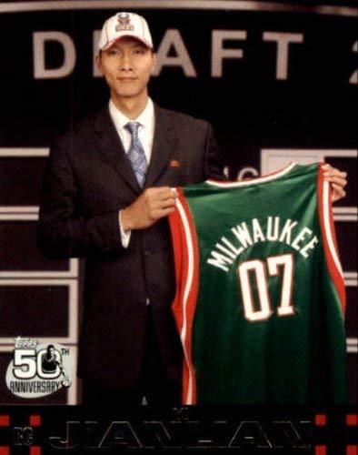 2007-08 Topps #116 Yi Jianlian RC NBA Basketball Trading Card