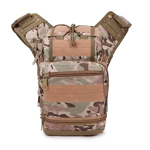 ZHANGYANTY Reisetasche Hüfttasche Sling Taschen Superleichtgewicht Männer Hüfttasche Umhängetasche Beutel for Spielraum des Kassierers Box (Color : Sansha Camouflage)