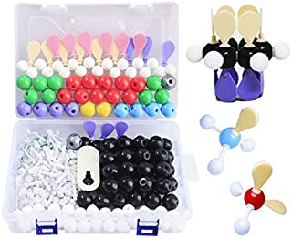 LINKTOR Chemistry Molecular Model Kit (310 Pieces), Student or Teacher Set for Organic and Inorganic Chemistry Learning, Motivate Enthusiasm for Learning and Raising Space Imagination (310pcs kit)