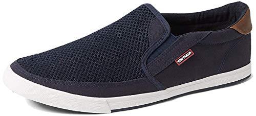 TOM TAILOR Herren 6980603 Slipper, Blau (Navy 00003), 42 EU