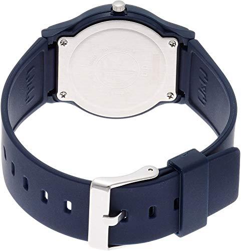 [シチズンQ&Q]腕時計アナログ防水ウレタンベルトVS04-001メンズホワイト×ネイビー
