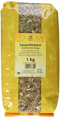Wichartz Würzkönig Sauerbraten Gewürzmischung, 3er Pack (3 x 1 kg)