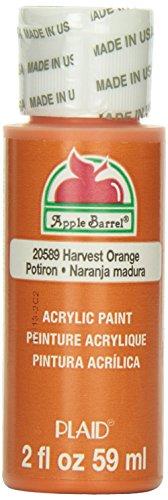Apple Barrel Acrylic Paint in Assorted Colors (2 oz), JA20598, Harvest Orange