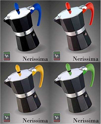 Espressokocher Nerissima 2 Tassen G.A.T. Farbe blau