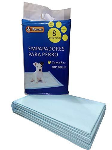 YOMMY-Empapadores de Entrenamiento para Perros Gatos Perfumes con Feromonas para Atraer los Cachorros y Simplificar el Entrenamiento (90X60 24PCS)