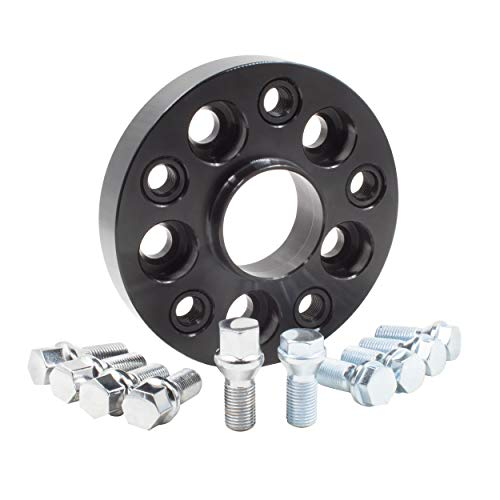 Wheel Spacer - Bolt-On Spacer Kit - 5x120 (25mm) 72.56m w/M12 1.5 Bolt