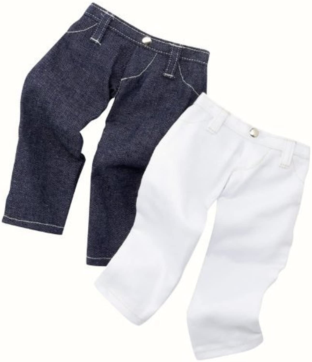 Gotz Two Pairs of Jeans for 18 inch dolls by Gotz