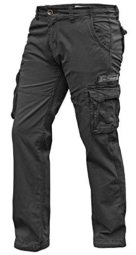 Alpha Industries Jet Pant schwarz - 33