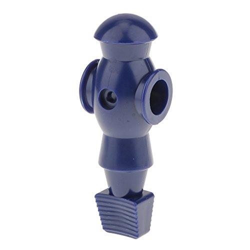 SM SunniMix Tischfußball Figuren mit Lochdurchmesser 16mm - Blau