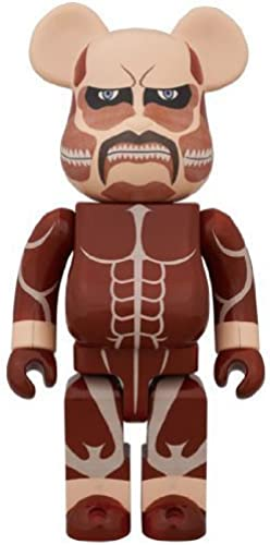 Medicom Attack On Titan 400-Percent Bearbrick Action Figure by Medicom