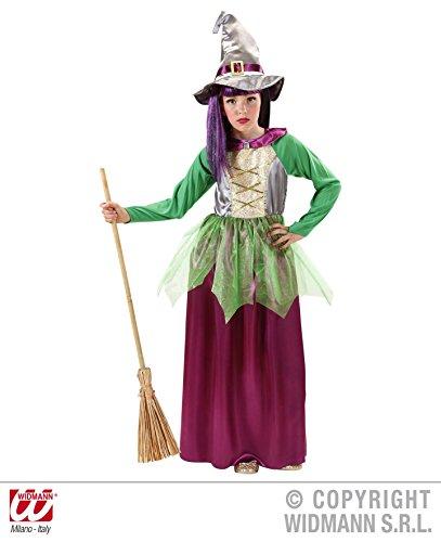 Witch - Verde / Viola - Bambini di Halloween Costume