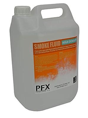 Ultra Dense High Quality Smoke & Fog Machine Fluid 5L for Professional Use by PFX