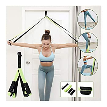 Iusun Fitness Resistance Bands Exercise Workout Bands Elastic Pull String Sport Assist Trainer Loop Exercise for Gym Fitness Pilates Training Rehab Yoga