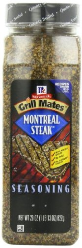 McCormick Grill Mates Montreal Steak Seasoning, 29 ounce by McCormick
