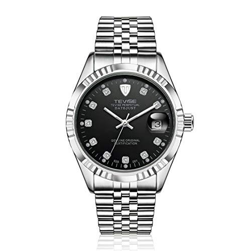 TEVISE 629-001 Hombres del Estilo del Negocio Reloj mecánico automático Reloj de Aguja...