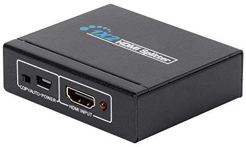 Monoprice Blackbird 4K Mini USB-Powered 1x2 HDMI Splitter