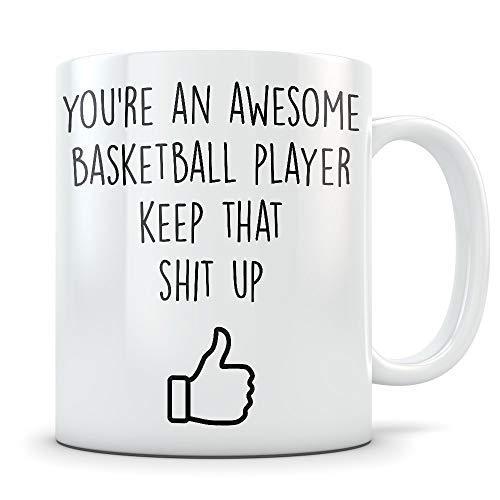 N\A Regalos motivadores de Baloncesto La Mejor Taza de café inspiradora para Jugadores de Bball Taza de inspiración de motivación para un estímulo Adicional