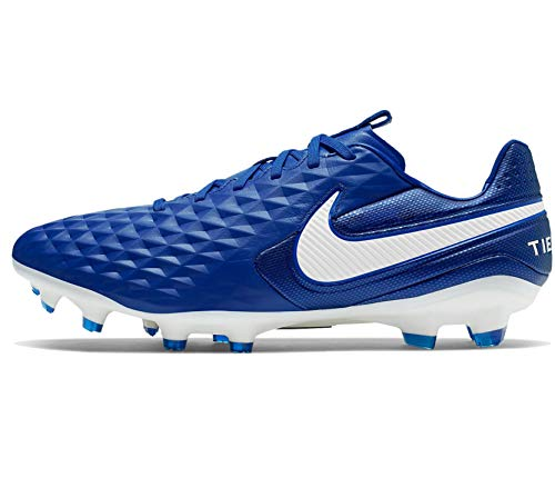Nike Tiempo Legend 8 Pro FG Soccer Cleats- Royal Blue/White (Numeric_8_Point_5)