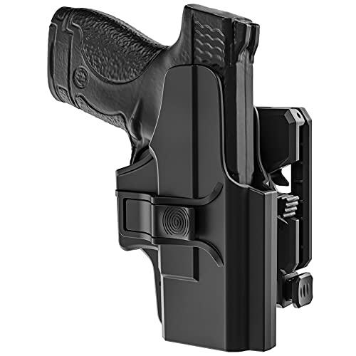 OWB Holster for Glock 26 27 33 Gen 1-4, Tactical 360 Degrees...