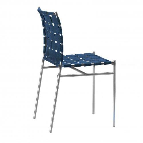 Tuinstoel Tagliatelle Standard Blue/Frame Steel