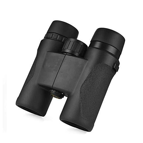 SHKUU Telescopio 8 x 32 binoculares, Mini Binocular portátil Compacto, Duradero, Ligero, Binocular con visión Nocturna Clara y débil para observación de Aves, Teatro y conciertos, Juegos Deportivos