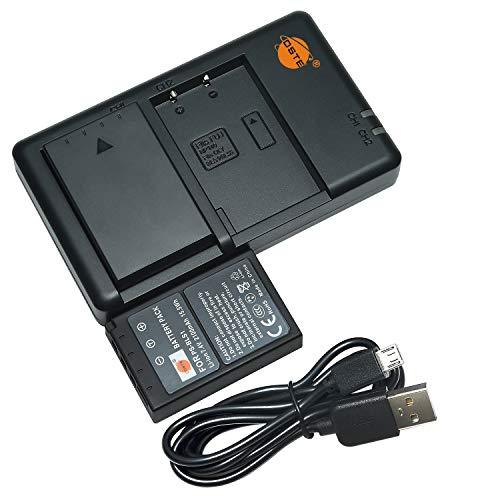 DSTE 2PCS BLS-1 PS-BLS1(2100mAh/7.4V) Batería Cargador Compatible para Olympus E-400,E-410,E-420,E-450,E-600,E-620,E-P1,E-P2,E-P3,E-PL1,E-PL3,E-PM1 Cámara