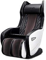 Naipo Massagesessel Shiatsu Massagestuhl mit Wärmefunktion, Klopfen, Kneten, Bluetooth, S+L-förmige Design,...
