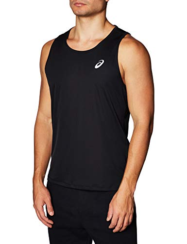 ASICS Camiseta sin Mangas para Hombre, Hombre, Camiseta de T