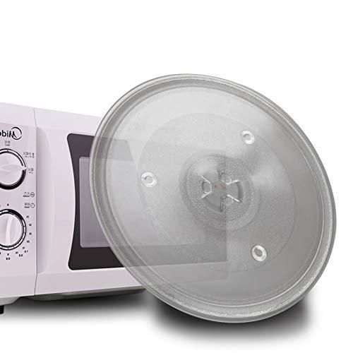 BALLSHOP Mikrowellenteller 27cm Drehteller Mikrowelle Teller Universalteller Glasteller