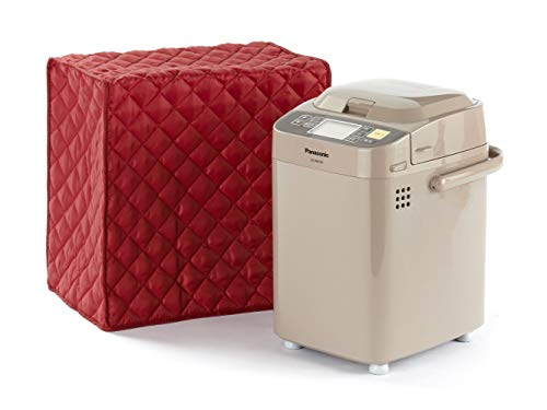 Covermates Keepsakes – Bread Maker Cover – Dust Protection - Stain Resistant - Washable – Appliance Cover - Red