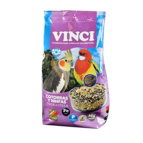 Vinci Alimento Especial Cotorras y Ninfas