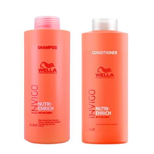 Kit Shampoo e Condicionador Wella Nutri Enrich Invigo